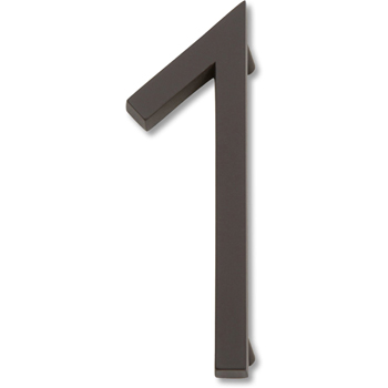 Atlas Homewares AVN1-O Modern Avalon 4.5-Inch No. 1 House Number - Oil Rubbed Bronze